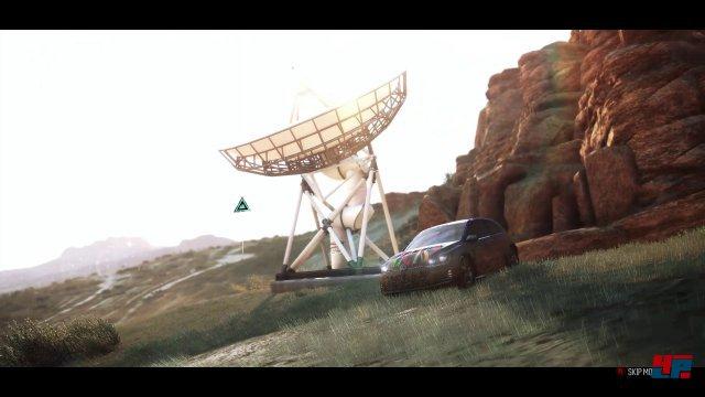 Die Satelliten-Antennen sind das Gegenstück zu den Türmen aus Far Cry oder Asssassin