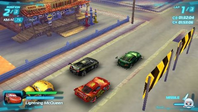 Screenshot - Cars 2: Das Videospiel (PSP) 2231612