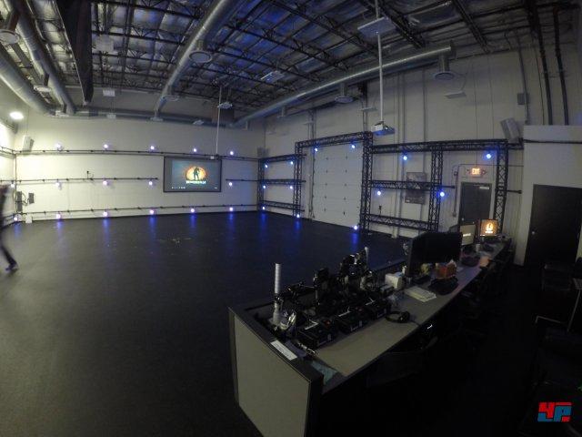 Netherrealm verfügt über ein eigenes Mocap-Studio.