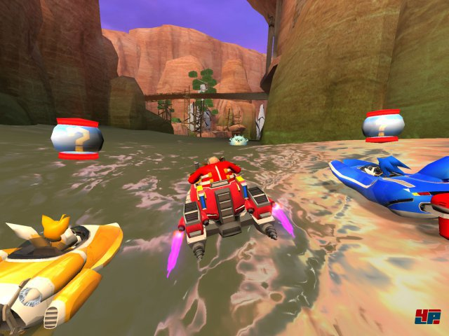 Screenshot - Sonic & All-Stars Racing: Transformed (Android)