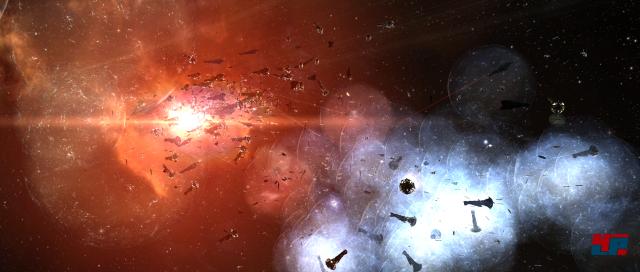 Zerstörerisch: Das  Blutbad von B-R5RB wird als teuerste Schlacht in die EVE-Geschichte  eingehen.