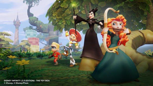 Im Rahmen von Infinity 2.0 werden auch weitere Disney-Charaktere veröffentlicht.