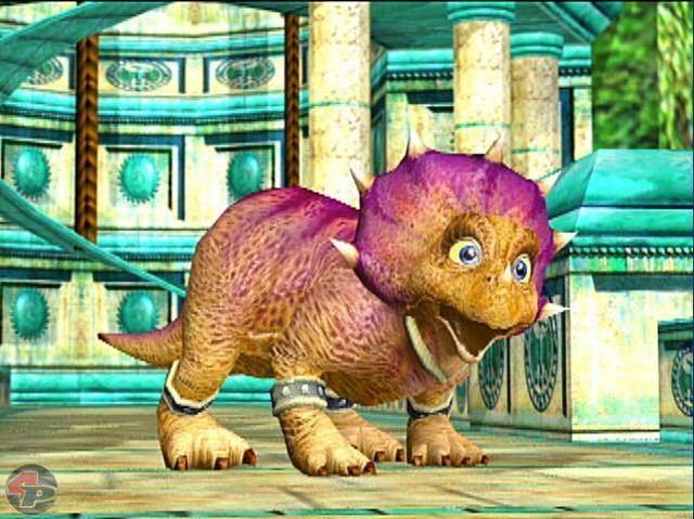 Prinz Tricky, der Triceratops und Fox McClouds Sidekick auf dem Dinosaurier Planeten 15004