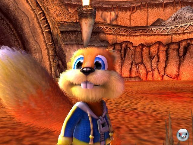 Conker: Live & Reloaded<br><br>Ein fluchendes, besoffenes Eichhörnchen, das von der Welt ein Stück weit die Schnauze voll hat, als Held eines Spiels. Und Keulen mit Nägeln drin. Ernsthaft: Warum sollte man noch weitere Gründe brauchen, um zu diesem großartigen Spiel zu greifen? 1758443