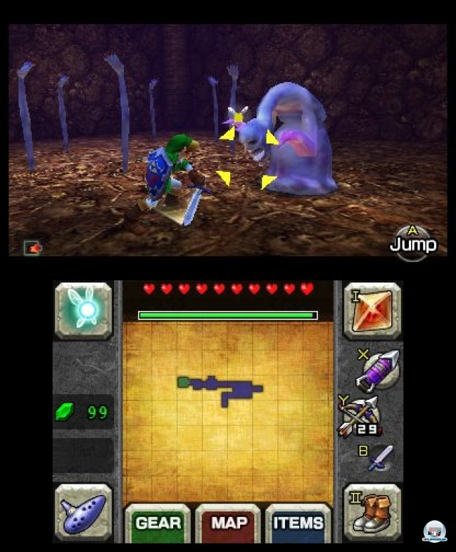 Screenshot - The Legend of Zelda: Ocarina of Time 3D (3DS) 2230677