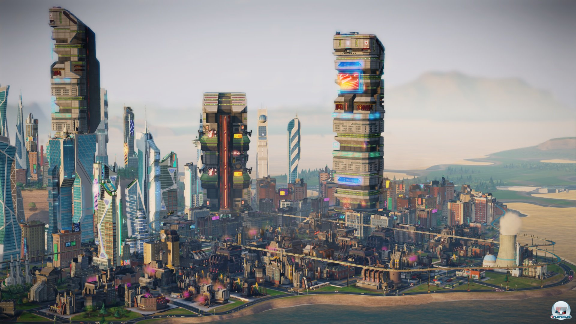Screenshots Zu Simcity Städte Der Zukunft Alles Zum Simulation