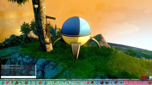 Screenshot - The Galaxy of Lemuria (Linux)