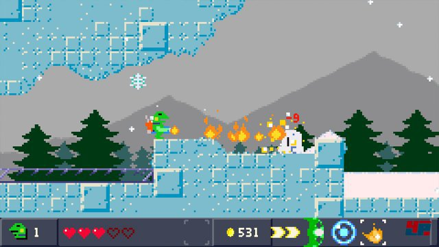 Screenshot - Kero Blaster (Switch)