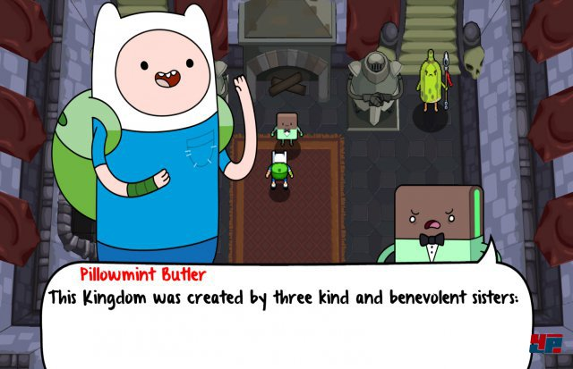 Screenshot - Adventure Time: Secret of the Nameless Kingdom (360)