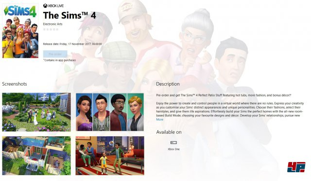 Screenshot - Die Sims 4 (One)