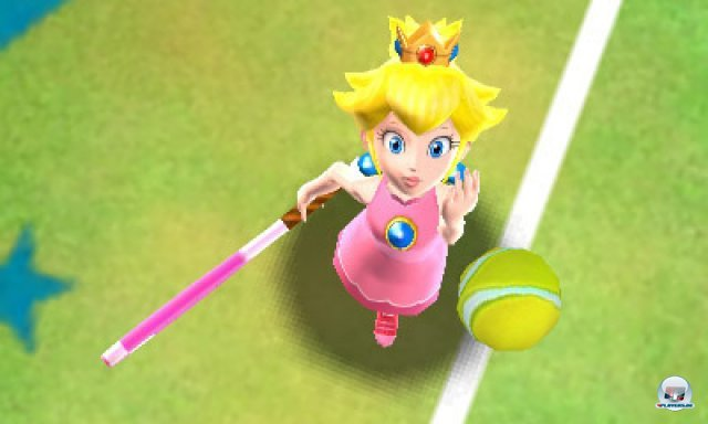 Screenshot - Mario Tennis 3D (3DS) 2287522