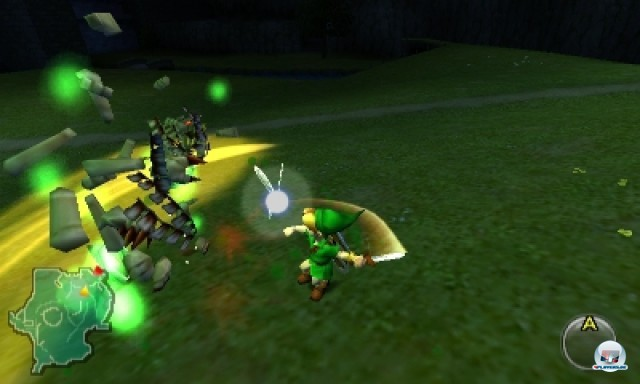 Screenshot - The Legend of Zelda: Ocarina of Time 3D (NDS) 2216984