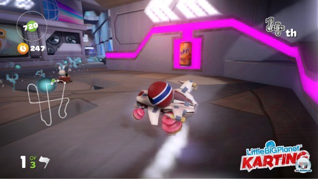 Screenshot - LittleBigPlanet Karting (PlayStation3) 2359057