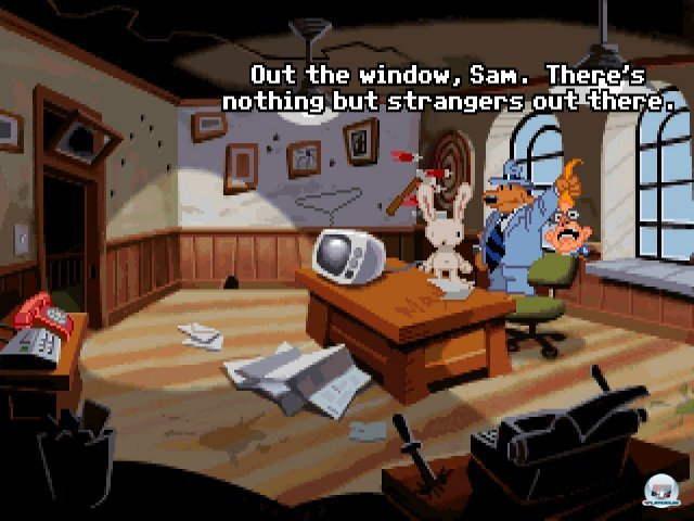 Screenshot - Sam & Max Hit the Road (PC) 92431567