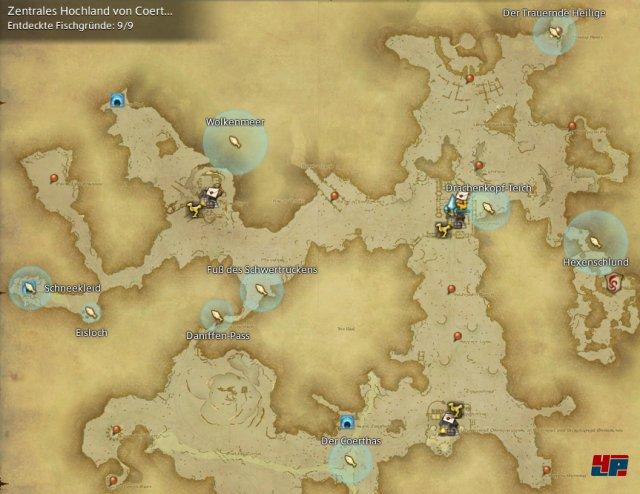 Final Fantasy XIV Online: A Realm Reborn - Fischgründe: Coerthas, Zentrales Hochland von Coerthas
