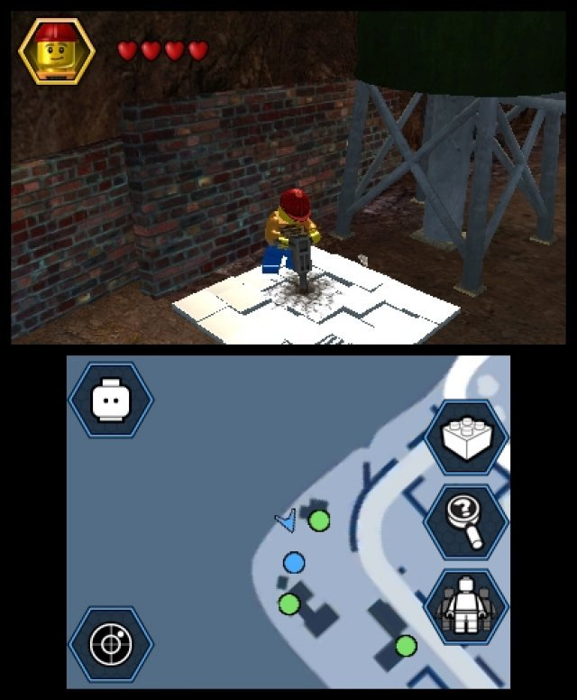 Screenshot - Lego City: Undercover (3DS)