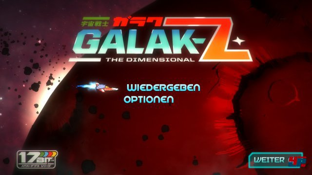 Screenshot - Galak-Z: The Dimensional (PlayStation4)