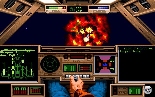 <b>Wing Commander</b><br><br>Das Genre der Space Opera ist ohnehin seit vielen Jahren extrem unterrepr�sentiert. Zwar flackert das Licht der Hoffnung immer wieder mal auf, zuletzt in Form von Freelancer oder Darkstar One, aber einfach nicht oft genug. Es wird Zeit, dass der gro�e Herzog wiederkehrt - aber bitte in pomp�ser, m�chtiger Form. Und nicht als �Schnell Kasse machen, bevor es einer merkt�-Dreck wie Wing Commander Arena.