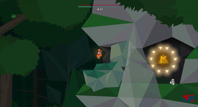Die N-Rune befindet sich ebenfalls im unteren Bereich des Deep-Forest-Levels. Um sie aufzuspüren muss man sich ganz ans rechte Ende begeben und oberhalb der unteren Passage zum Swamp-Level das davorliegende Geröll entfernen.