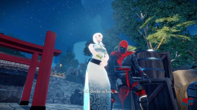 Der Rachegeist Aragami wird von Yokami beschworen.