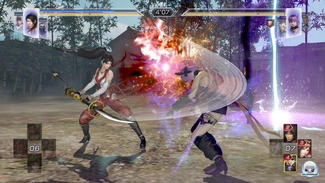 Der an das erste Dynasty Warriors erinnernde Duell-Modus ist eine interessante Ergänzung.