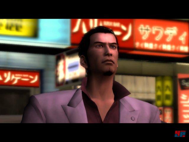 Eins der ersten Bilder von Kazuma Kiryu: 2005 veröffentlichte Sega das erste Yakuza.