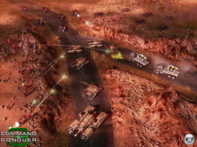 Command & Conquer 3 Tiberium Wars Screenshot.