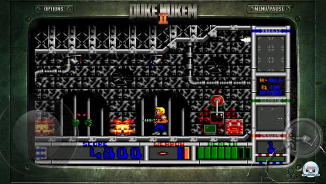 Screenshot - Duke Nukem II (iPad)