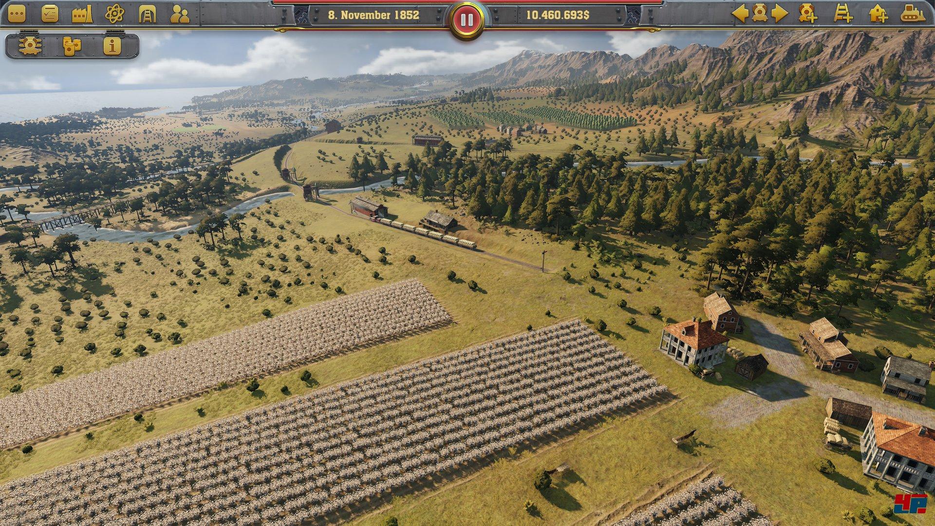Railway Empire: Transportsimulation für PC, Xbox One und PS4 angekündigt