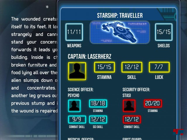 Screenshot - Starship Traveller (iPad)