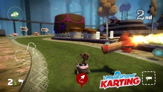 Screenshot - LittleBigPlanet Karting (PlayStation3)