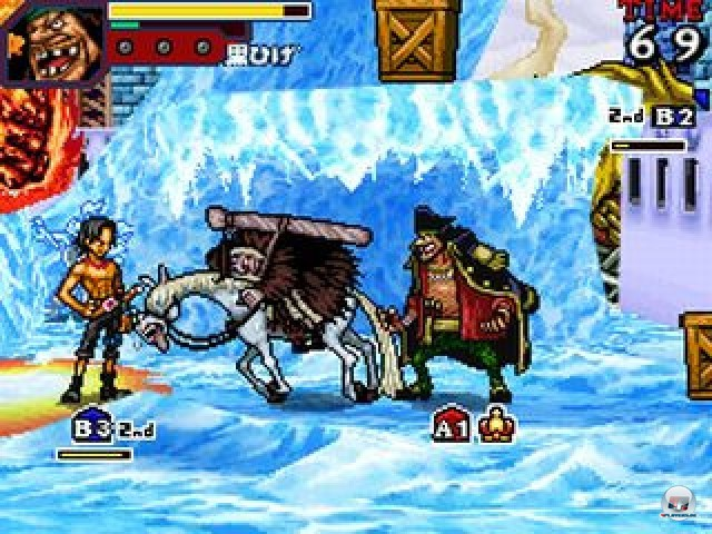 Screenshot - One Piece: Gigant Battle (NDS) 2237459