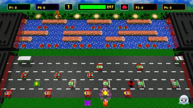 Screenshot - Frogger: Hyper Arcade Edition (360)