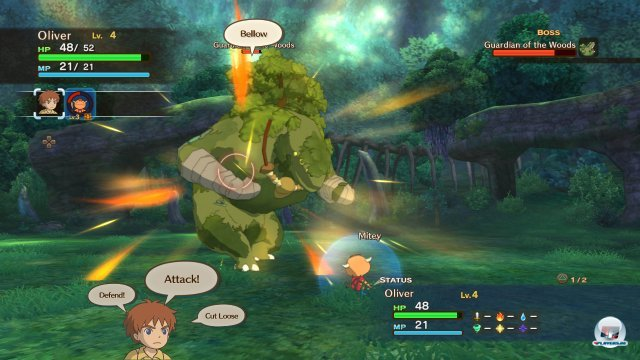 Screenshot - Ni No Kuni: Der Fluch der Weißen Königin (PlayStation3) 2385287