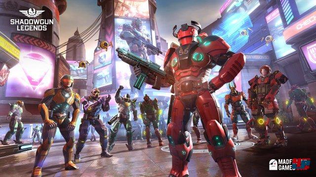 Screenshot - Shadowgun Legends (Android)
