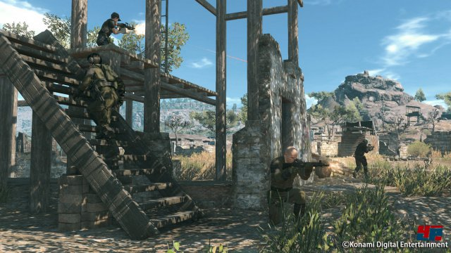 Screenshot - Metal Gear Online (360) 92521238