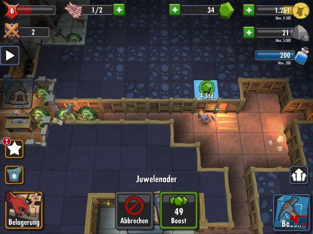 Screenshot - Dungeon Keeper (iPad)