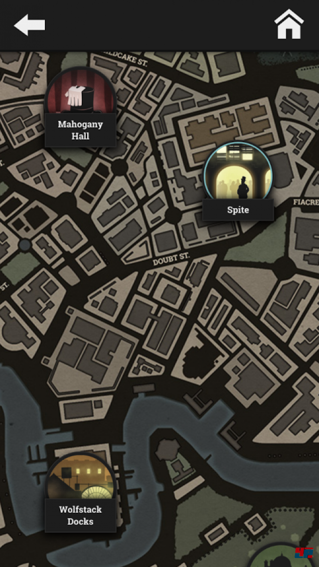 Screenshot - Fallen London (Android)