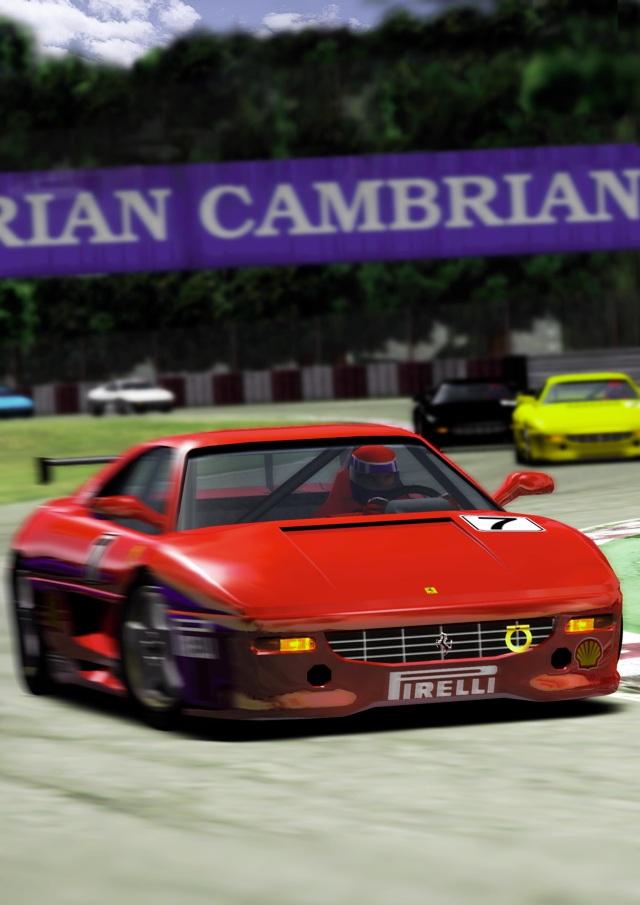 <br><br>Segas Wurzeln liegen bekanntlich in der Spielhalle. Nach Outrun sorgte ein weiterer Racer-Automat f�r besonders viel Aufsehen: F355 Challenge, in dem man sich hinter das Steuer des Ferraris klemmte und auf lizenzierten Pisten wie Monza und Suzuka um den Sieg fuhr. Auf Dreamcast lieferte Yu Suzuki mit seinem AM2-Team eine perfekte Umsetzung des Vorbilds ab und erweiterte diese sogar noch um ein paar weitere Strecken und Modi. Der anspruchsvolle Arcade-Racer kann sich selbst heute noch sehen und h�ren lassen - vor allem der kernige Motorsound des virtuellen F355 l�sst Autoherzen h�her schlagen... 2068238
