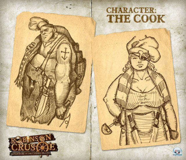 Screenshot - Robinson Crusoe: Adventure on the Cursed Island (Spielkultur)