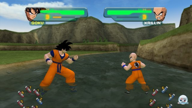 Screenshot - Dragon Ball Z Budokai HD Collection (PlayStation3) 2373697