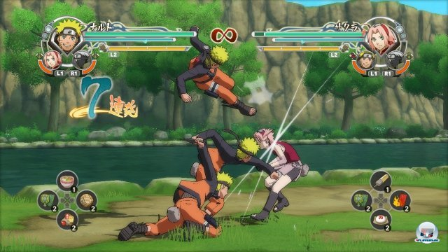 Screenshot - Naruto Shippuden: Ultimate Ninja Storm Generations (PlayStation3) 2295822