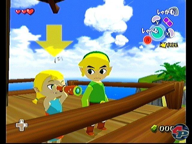 <b>The Legend of Zelda: The Wind Waker</b><br><br> Links sorgte mit seinem ersten GameCube-Auftritt ebenfalls für hitzige Fan-Debatten. Nach den legendären 3D-Vorgängern wagte Nintendo einen Stilwechsel, verpasste dem Helden ein kindliches Cel-Shading-Design und dem Spiel Segel-Einlagen. Ähnlich wie bei Super Mario Sunshine schieden sich auch hier die Geister. Spielerisch war das Abenteuer aber über jeden Zweifel erhaben und strich in unserem Test 91% ein. 2347092