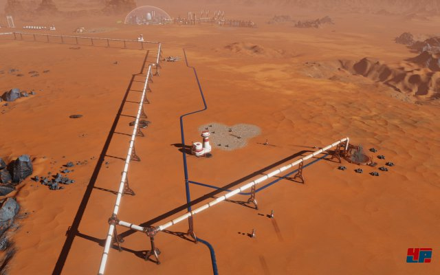 Screenshot - Surviving Mars (Linux)
