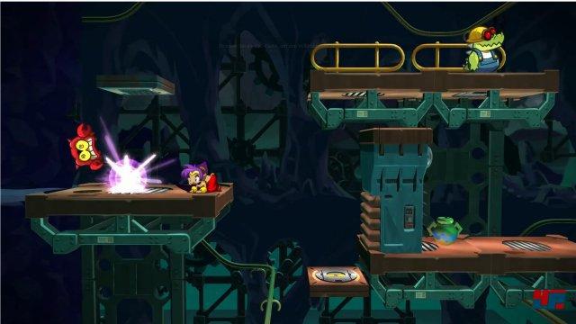Way Forward hebt sich die Pausen f�rs finale Spiel auf: In der Kickstarter-Demo steht die Action im Vordergrund.
