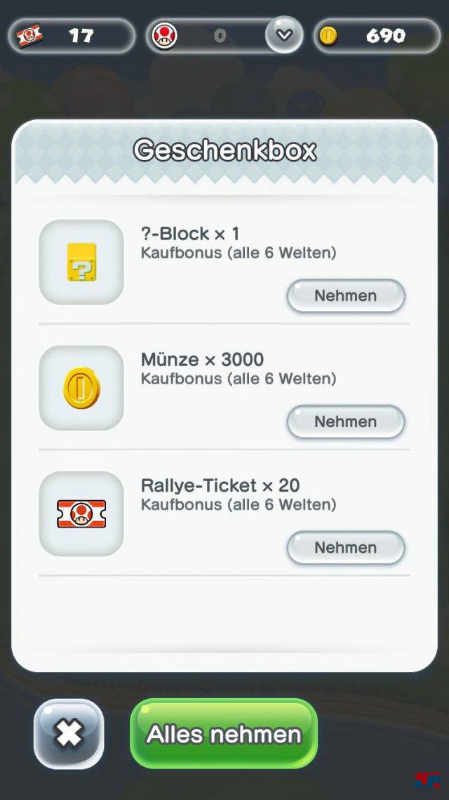 Screenshot - Super Mario Run (iPad) 92537687