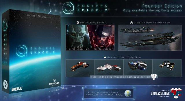 Während der Early-Access-Phase wird eine Founder Edition des Spiels verfügbar sein.