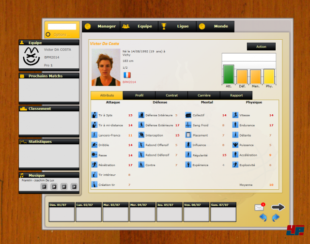 Screenshot - Basketball Manager 2014 - Das Original (PC)