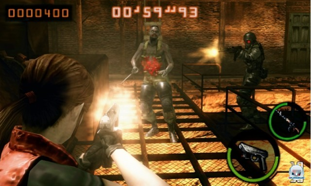 Screenshot - Resident Evil: The Mercenaries 3D (3DS) 2227433