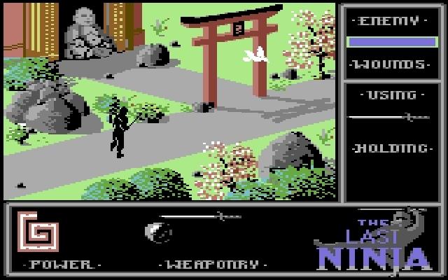 <b>The Last Ninja</b> (1987)<br> Entwickler: System 3<br> Publisher: System 3 1748433